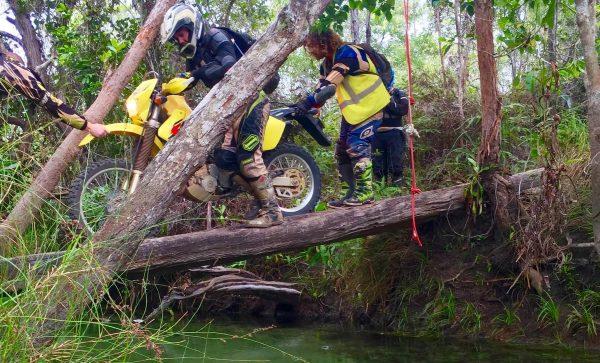 herberton ranges trail bike adventure camping