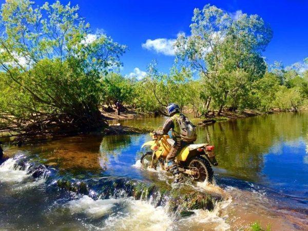 creb track map motorbike trail tours daintree rainforest roaring meg falls