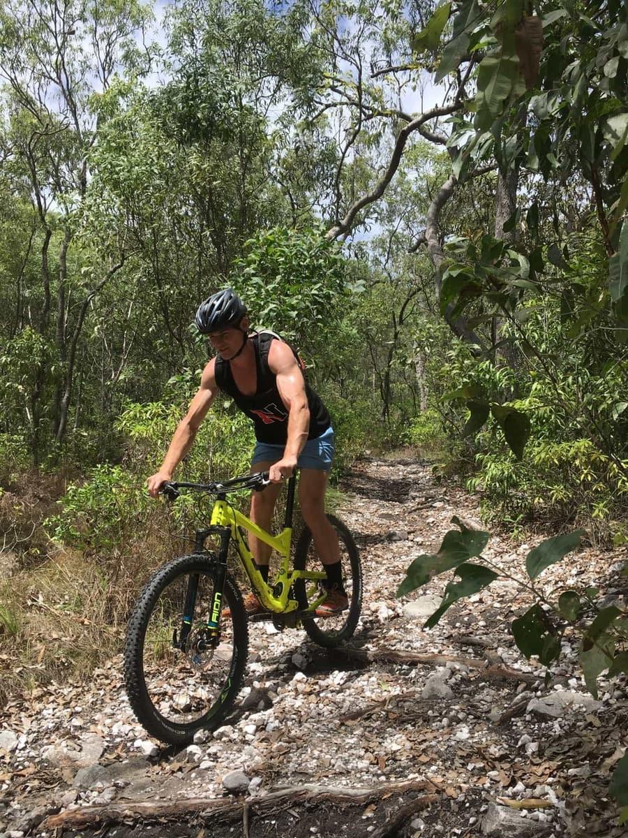 bump track port douglas mountain bike trail mowbray