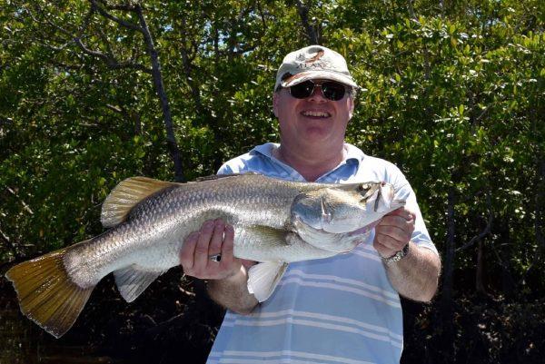 Fishing Port Douglas inshore reef and estuary barramundi coral trout
