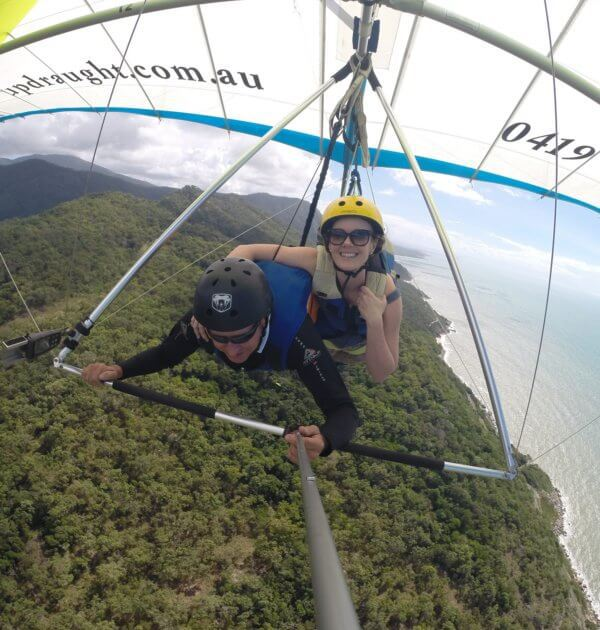 hang gliding port douglas rex lookout wangetti beach Great barrier reef drive beaches rainforest