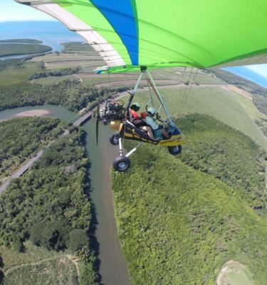 Microlight Port Douglas with Updraught sightseeing Daintree River Daintree Rainforest Great Barrier Reef