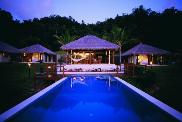 Port Douglas accommodation options include magnificent executive homes overlooking the reef or rainforest